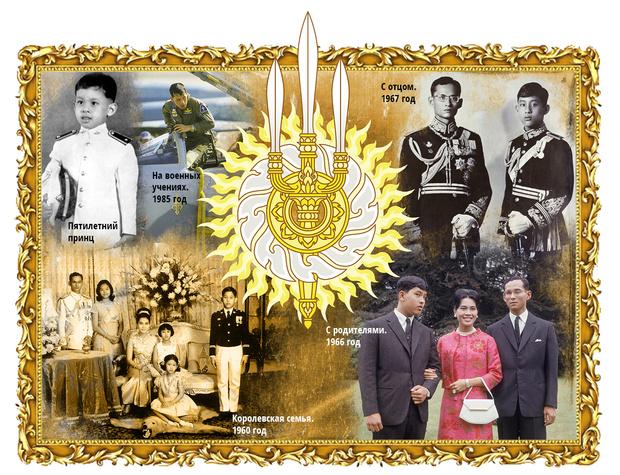 Фото №2 - Рама Тайский, король взаконе: жизнь и похождения монарха Таиланда