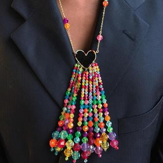 Фото №5 - Наивное искусство: 5 украшений из бисера и бусин, в которые вы влюбитесь