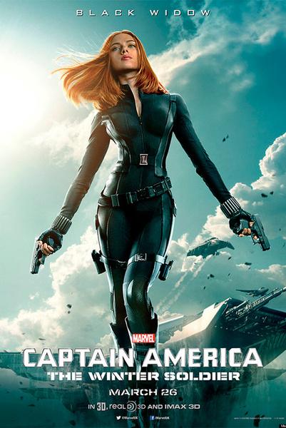 Скарлетт Йоханссон (Scarlett Johansson), «Первый мститель: Другая война» (Captain America: The Winter Soldier)