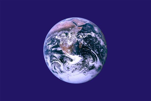 Официальный флаг Земли