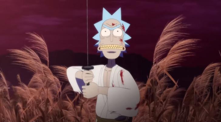 Фото №2 - У «Рика и Морти» появился специальный аниме эпизод 😍