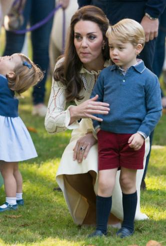 Фото №5 - Мама Их Высочеств: как герцогиня Кейт общается с Джорджем, Шарлоттой и Луи