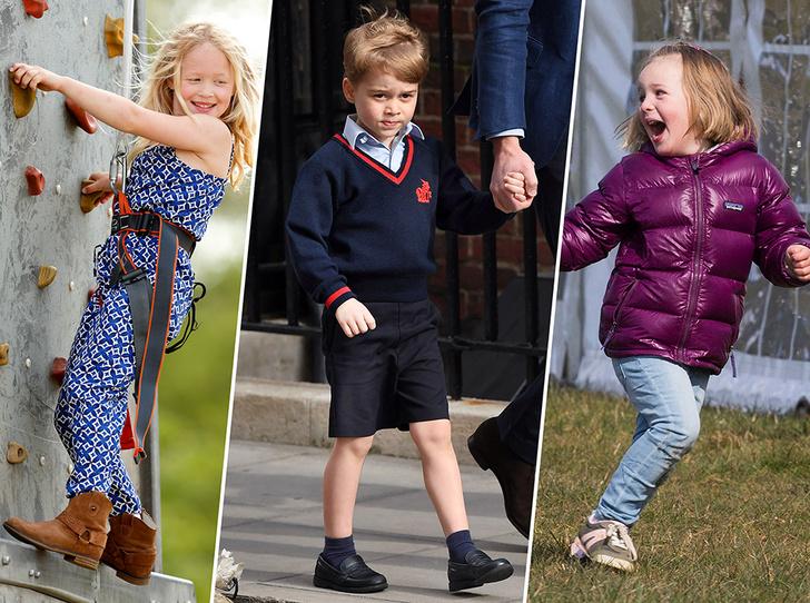 Фото №1 - Королевская кровь: все правнуки и правнучки Елизаветы II