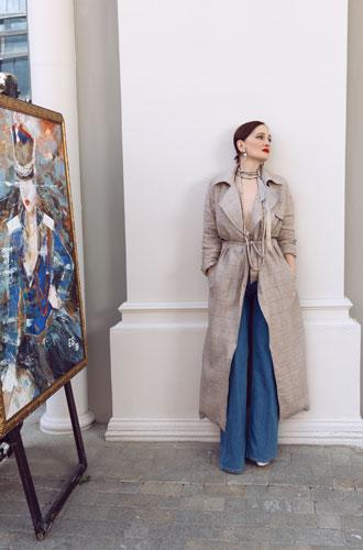 Фото №32 - Елена Сотникова: «Мои картины в основном покупают самодостаточные женщины»