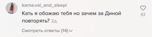 Фото №3 - Упс: Катю Адушкину обвинили в копировании Дины Саевой