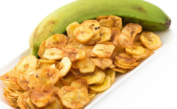 Банановые чипсы фото