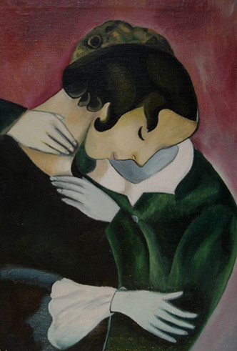 Фото №9 - Женщина судьбы: Белла Розенфельд в жизни и творчестве Марка Шагала
