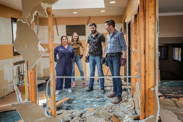Мелисса Маккарти сделала ремонт в доме дяди и тети