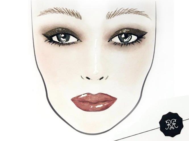 Фото №2 - Три идеи макияжа для вечеринки от визажиста Rouge Bunny Rouge