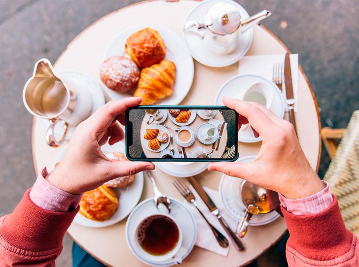 Фото №1 - Как научиться делать красивые снимки еды в Instagram