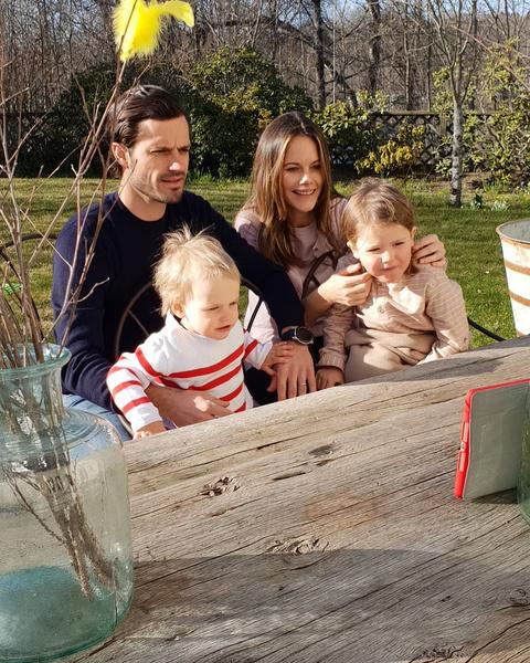 Шведская принцесса София готовится стать мамой в третий раз