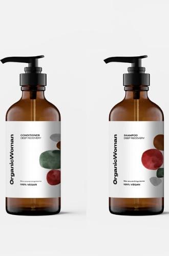 Шампунь и кондиционер для волос Deep Recovery от Organic Beauty