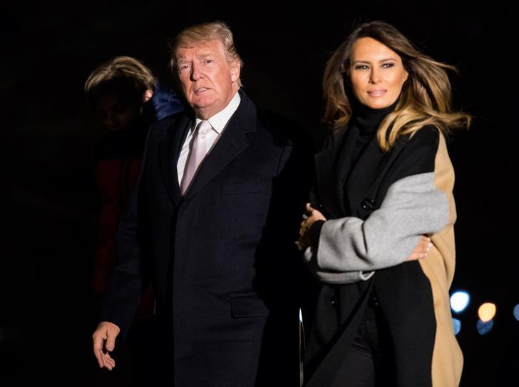 Фото №6 - Тихий омут Мелании Трамп: что не так с Первой леди США (и c ее отношениями с президентом)