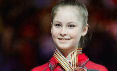 Юлия Липницкая взяла серебро на ЧМ по фигурному катанию