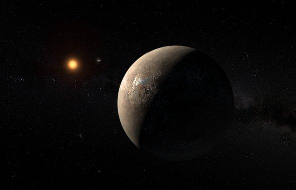 Фото №1 - У ближайшей к Земле экзопланеты может быть сосед
