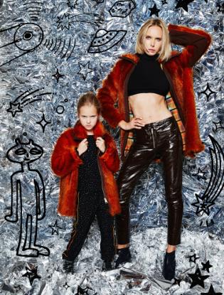 Фото №1 - Звездные мамы и дети в лукбуке H&M Studio Kids