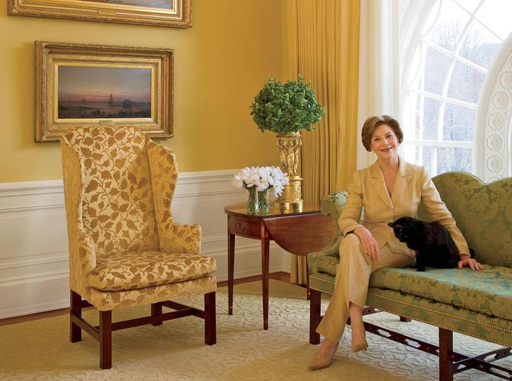 Фото №7 - Классика с личным акцентом: как первые леди США меняли Белый дом