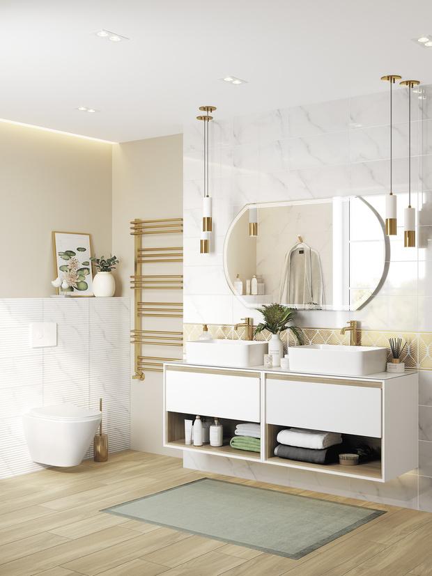 Фото №9 - Тренды 2021: ванная комната в стиле спа