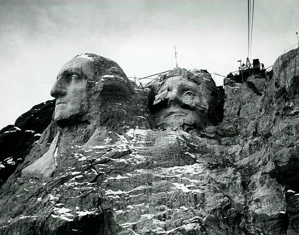 Фото №2 - Гора Рашмор: история в трех фотографиях