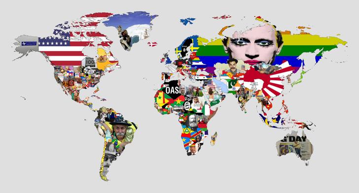 Фото №1 - Карта-угадайка: что провоцирует раздражение у большинства жителей разных стран