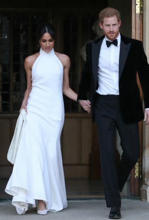 Фото №3 - Назад в прошлое: в каком платье Меган выходила замуж в первый раз