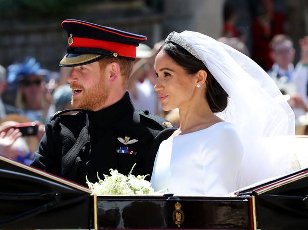 Фото №65 - Свадьба Меган Маркл и принца Гарри: как это было (видео, фото, комментарии)