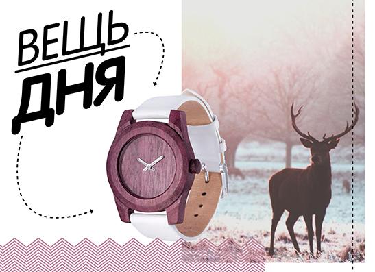 Фото №1 - Вещь дня: Деревянные часы AA Wooden Watches