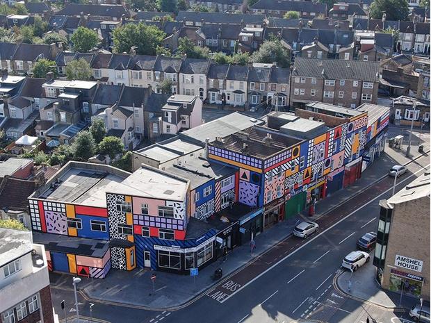 Фото №1 - Улица в Лондоне превратилась в арт-инсталляцию