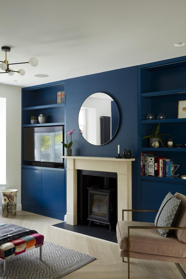Фото №2 - Реконструированный дом 1930-х годов с синей гостиной в Лондоне