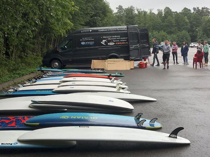 Фото №2 - Ласковый серфинг: где покататься в Питере и Калининграде