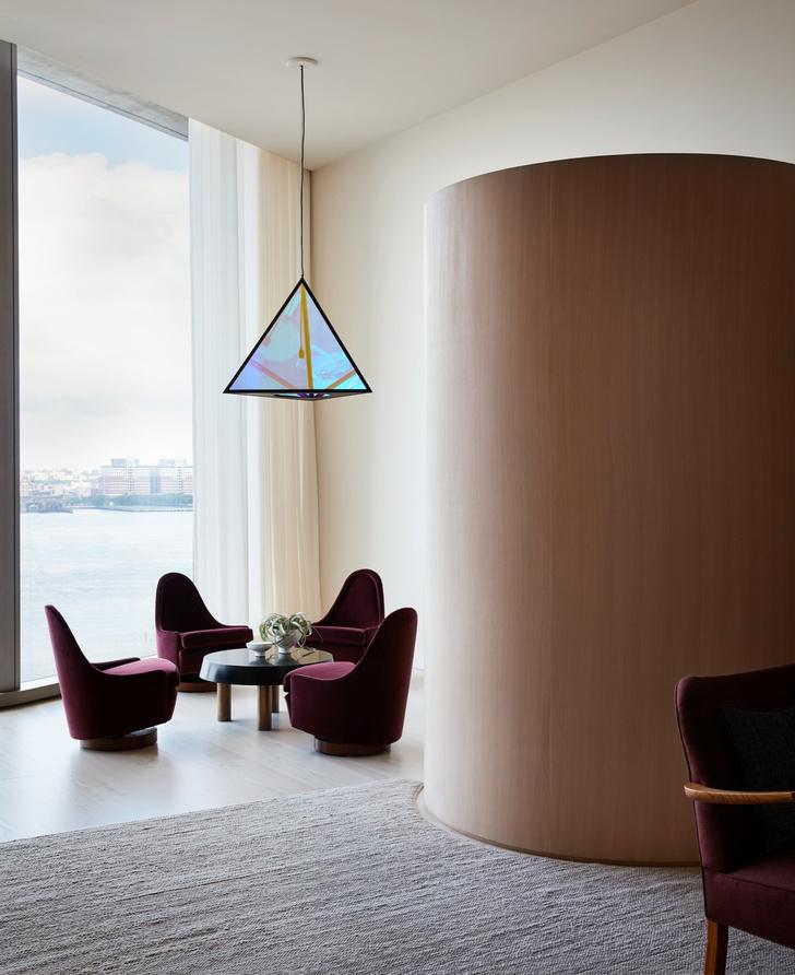 Фото №2 - Дизайнерские апартаменты с видом на Гудзон