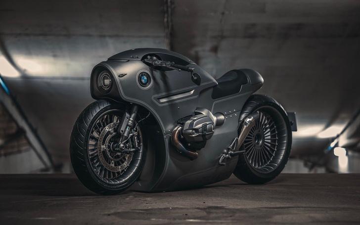 Фото №1 - Футуристический мотоцикл BMW, сделанный в России