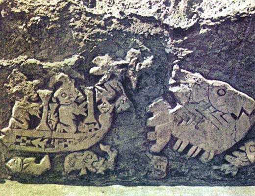 Фото №1 - Глиняный чертеж в пустыне