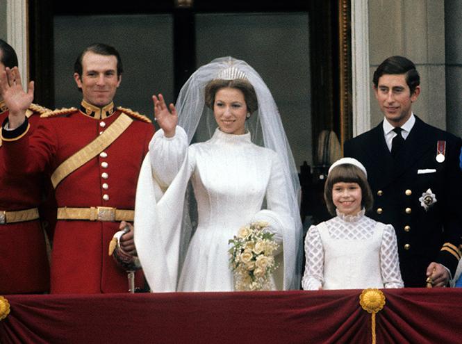 Фото №5 - Первая свадьба принцессы Анны: как выходила замуж дочь Елизаветы II