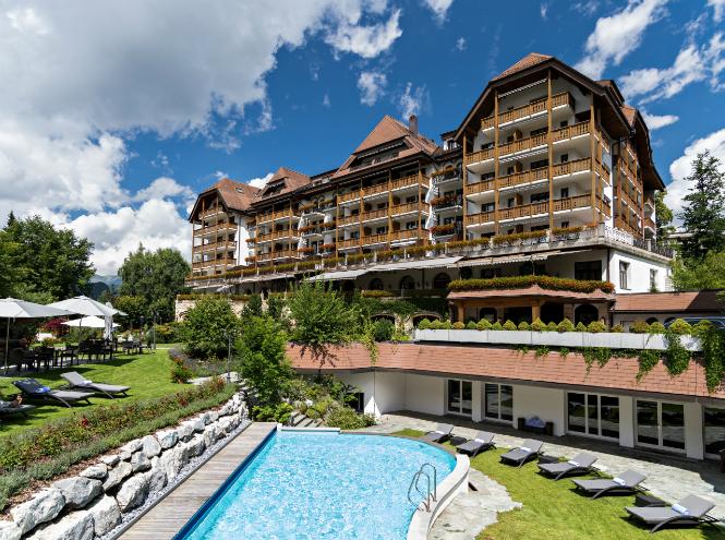 Фото №1 - Фитнес в Альпах – спортивное спецпредложение от Grand Hotel Park
