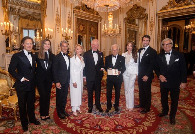 Фото №3 - Ральф Лорен получил Превосходнейший орден Британской империи