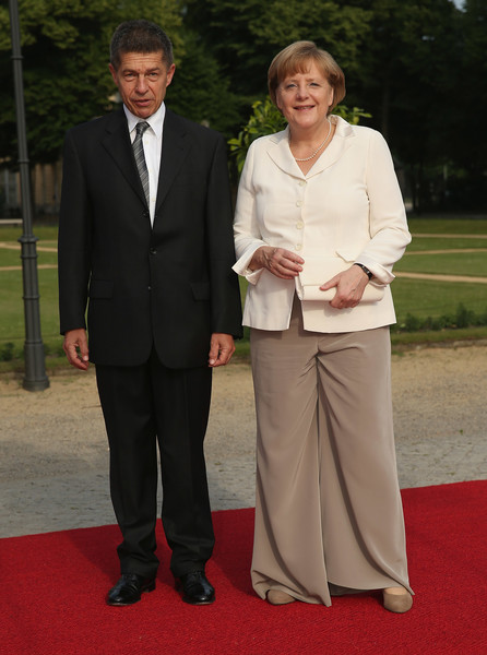 Ангела Меркель с супругом