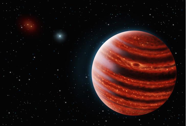 Фото №1 - Вне Солнечной системы найдена молодая планета, похожая на Юпитер