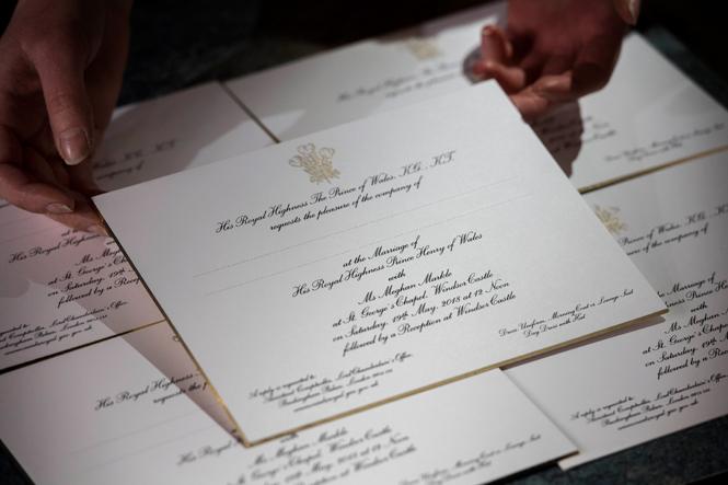 Фото №2 - На свадьбу со своей едой: гостям принца Гарри и Меган Маркл пришло странное оповещение