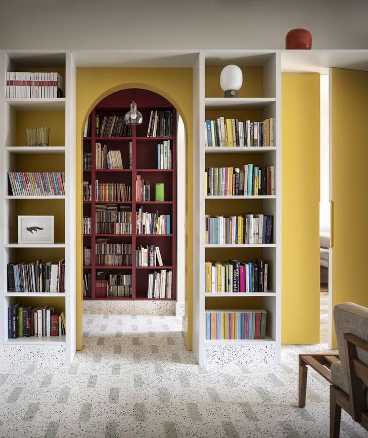 Фото №3 - Квартира с домашней библиотекой в Милане