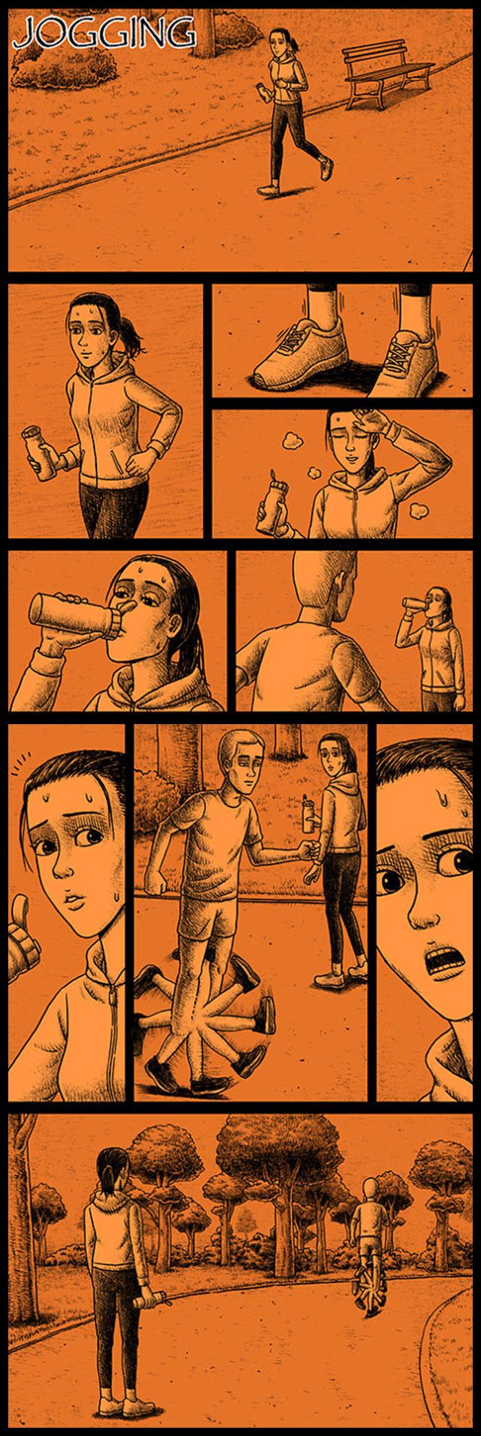 Фото №30 - 30 комиксов с отборным черным юмором от Бена Чена