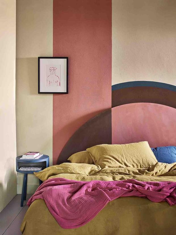 Фото №3 - Тренд: терракотовый цвет в спальне
