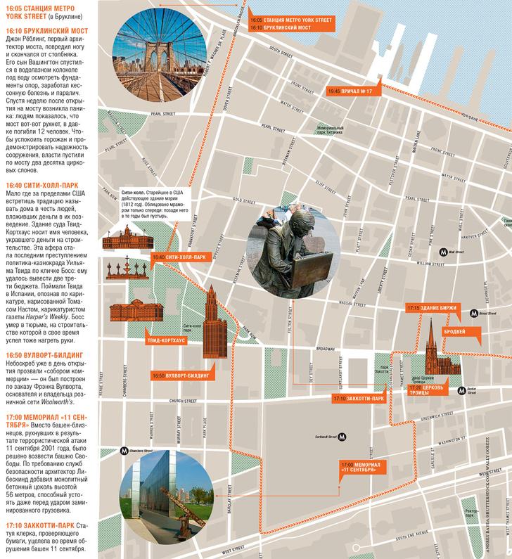 Фото №3 - Нью-Йорк за 12 часов: карта города