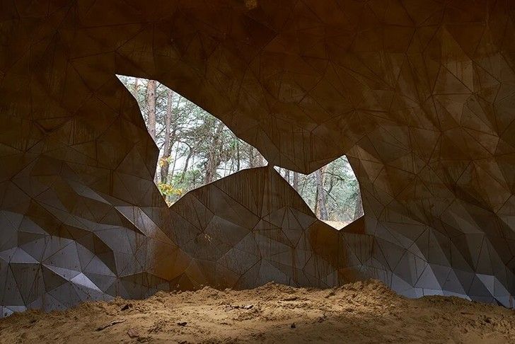 Фото №5 - Скульптура в песчаных дюнах Бельгии