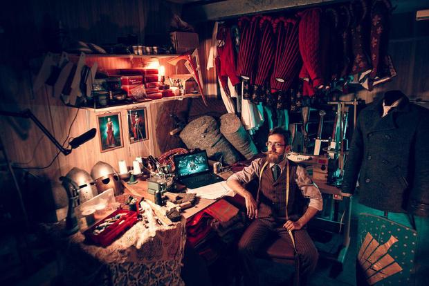 Фото №1 - Красиво шить не запретишь: квартира-мастерская портного