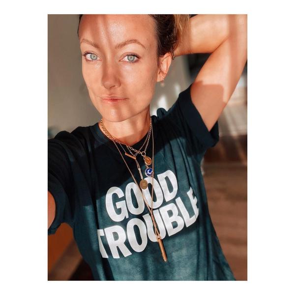 Фото №1 - «Никаких троллей»: Оливия Уайлд изменила политику своего Инстаграма после начала отношений с Гарри Стайлсом