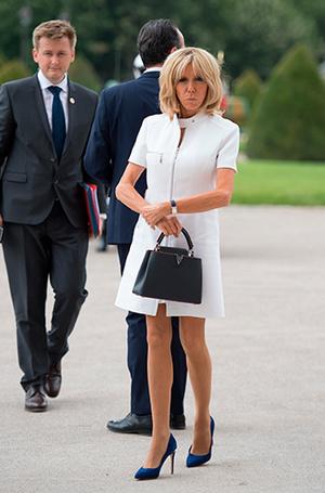 Фото №5 - Первые подруги: Мелания Трамп и Бриджит Макрон в Париже