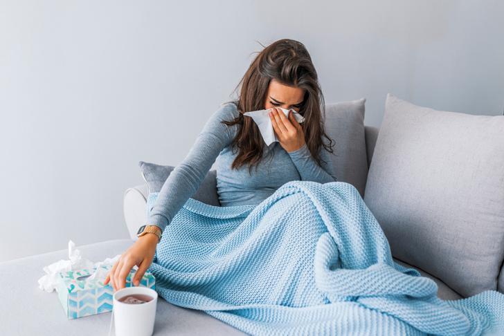 Температура от 37 до 39 градусов при простуде и гриппе