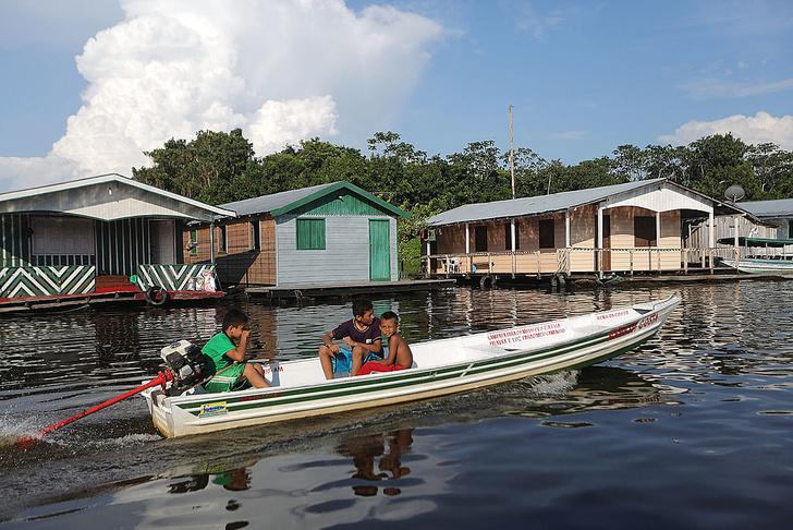 Фото №4 - Венеция Амазонии: потерянный «плавучий город» Манауса