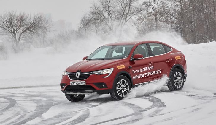 Фото №1 - Зимние игры с Renault Arkana